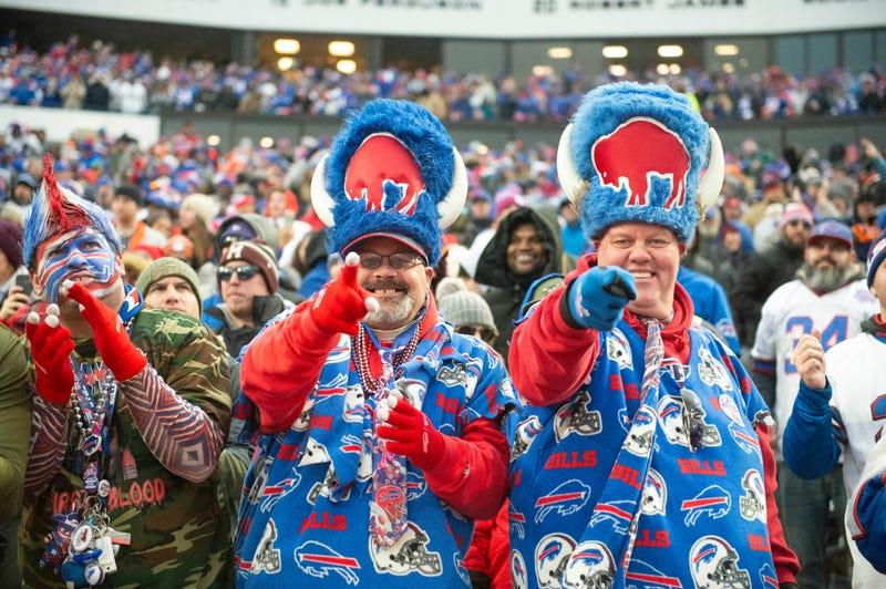 Buffalo Bills fans at Bills Stadium