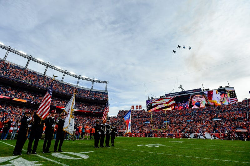 NFL Military Flyover