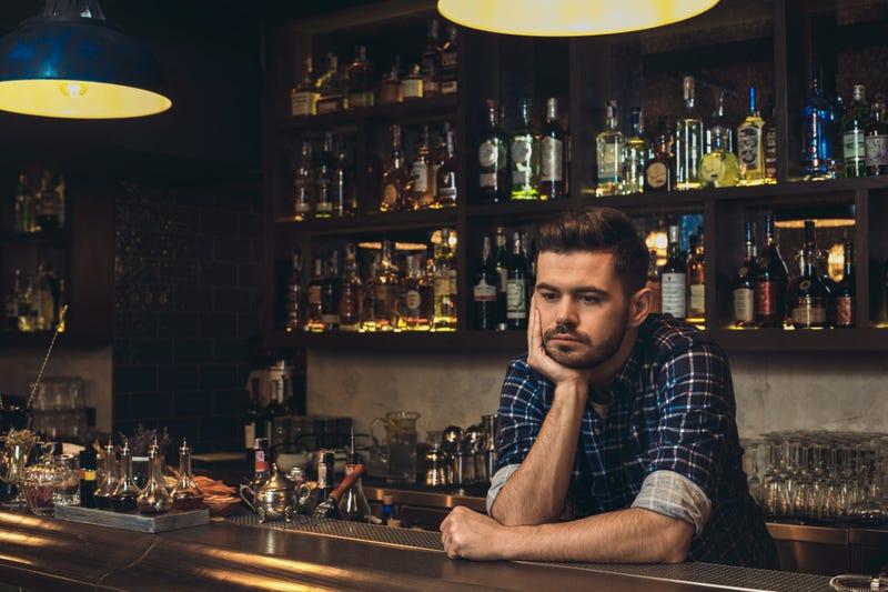 Sad Bartender