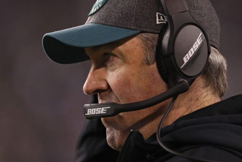 Head coach Doug Pederson of the Philadelphia Eagles