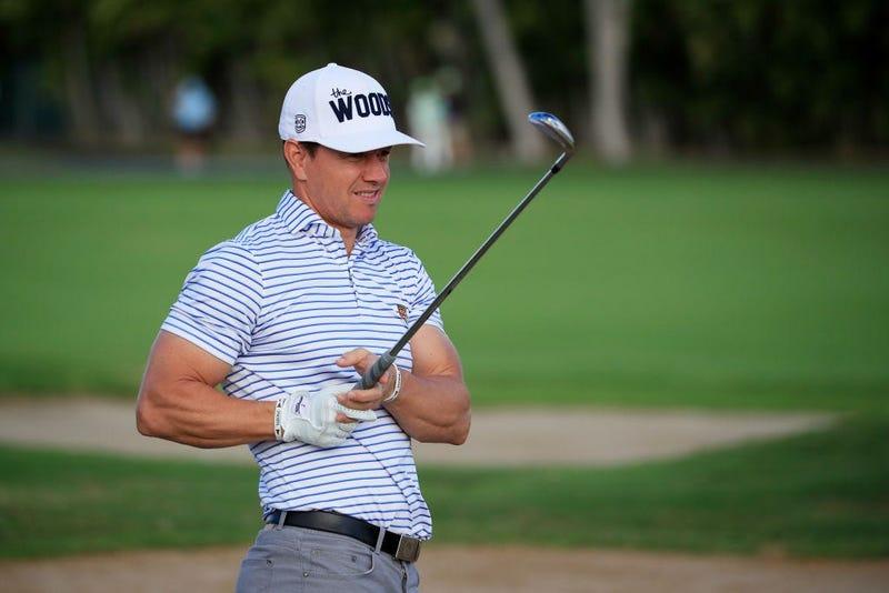 Mark Wahlberg Golfing