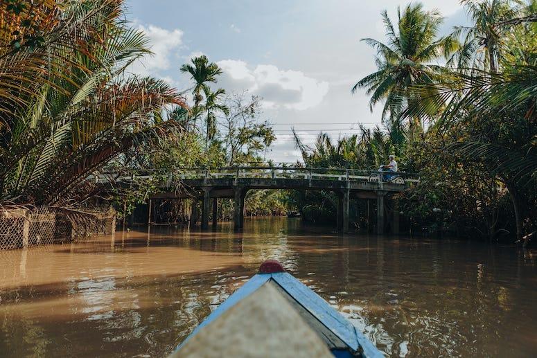Jungle Cruise, Mekong River Delta, Fishing, Rowing Boats