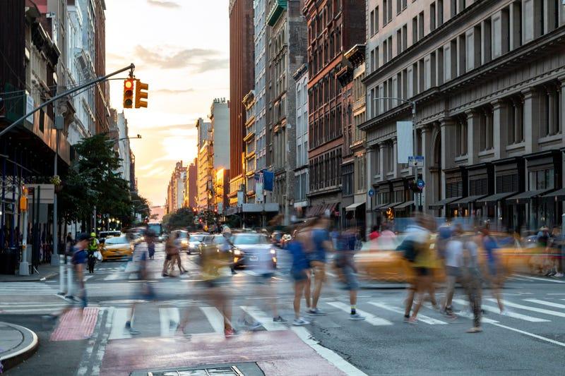 NYC street traffic