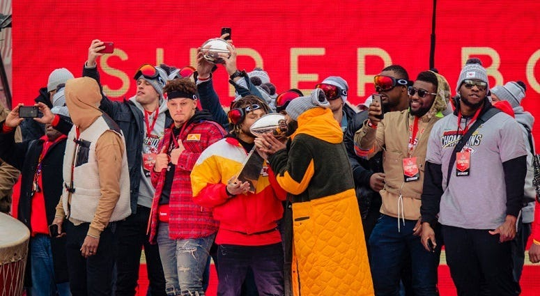 A week of celebrating a Chiefs Super Bowl championship