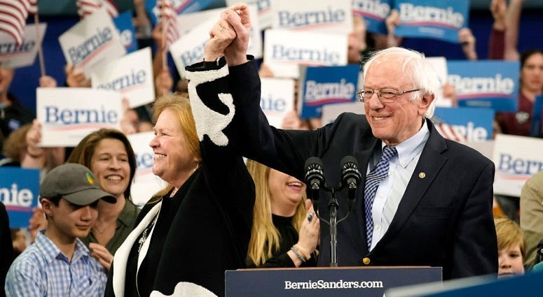 Sanders gets win in NH primary