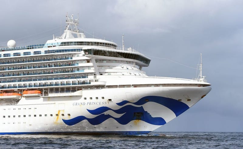 Grand Princess cruise ship