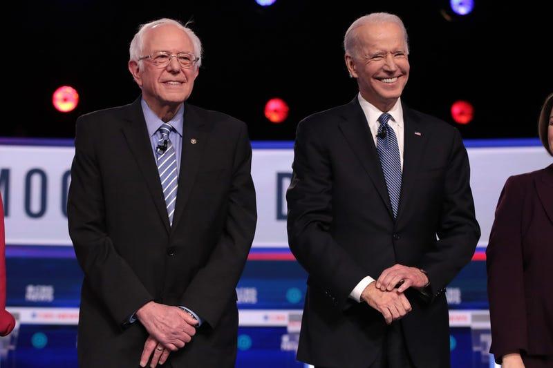 Joe Biden Bernie Sanders