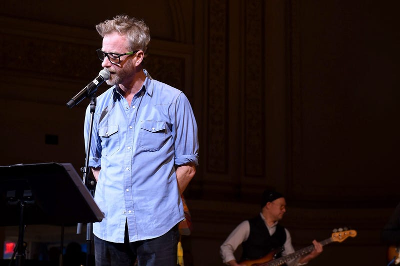 NEW YORK, NEW YORK - FEBRUARY 26: Matt Berninger rehearses on stage during the 33nd Annual Tibet House US Benefit Concert & Gala on February 26, 2020 in New York City. (Photo by Ilya S. Savenok/Getty Images for Tibet House)