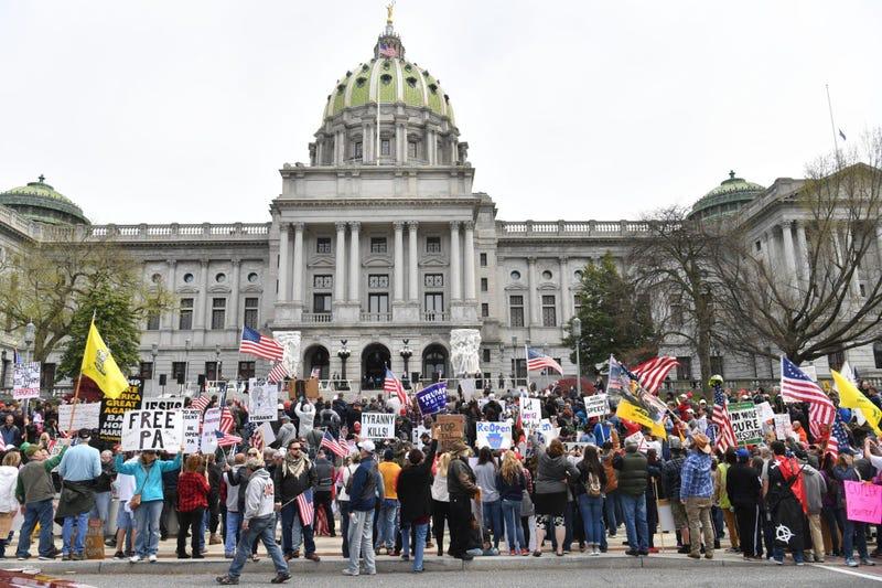 Harrisburg protest