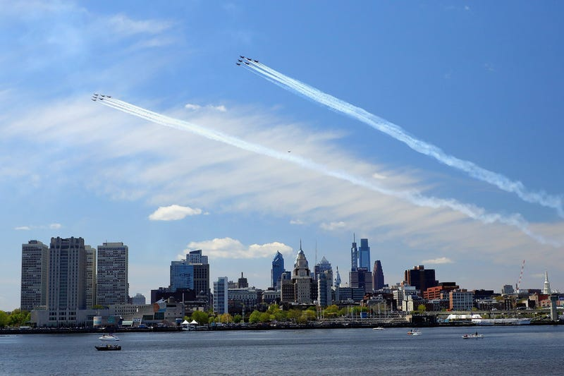 Philly fly over