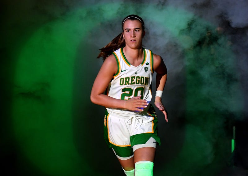 You wouldn't want to mess with Sabrina Ionescu right now