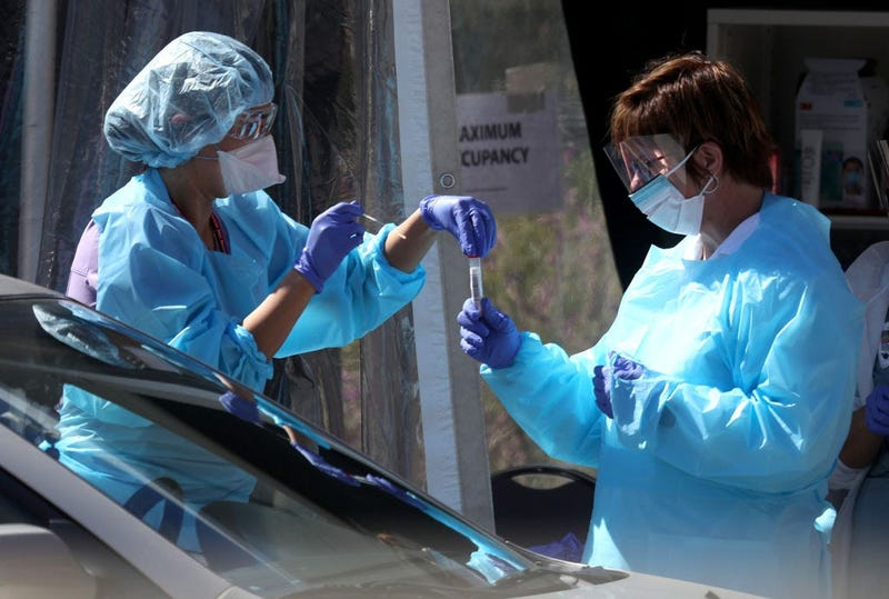 Kaiser Permanente Opens Drive-Thru Coronavirus Testing Station In San Francisco