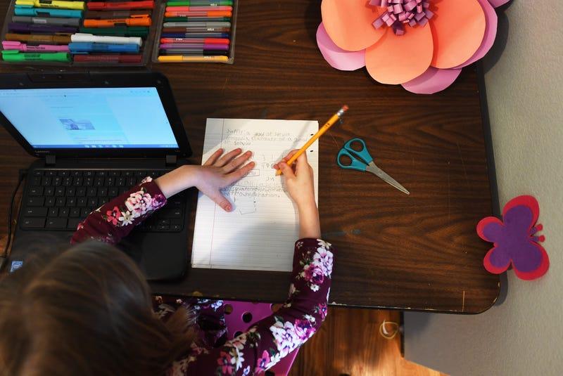 Online school instruction