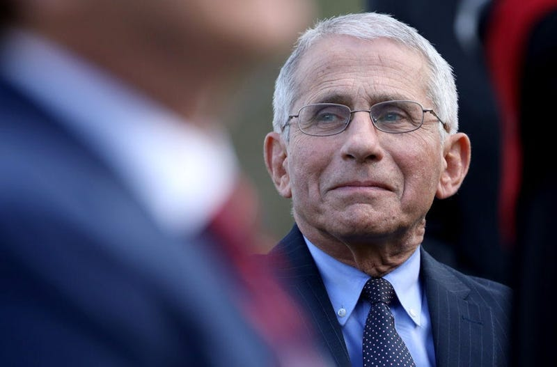 Dr. Fauci says sports can return without fans