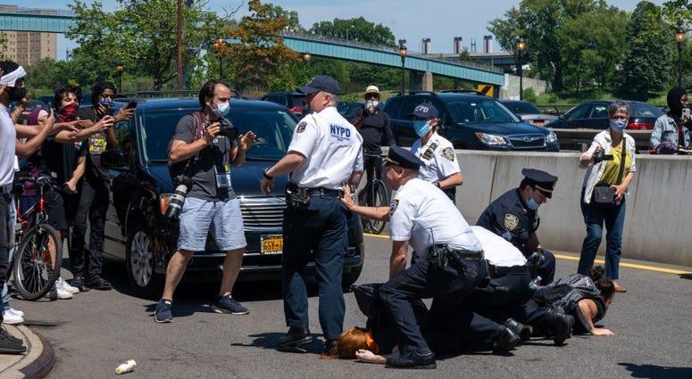 George Floyd Protest Arrest
