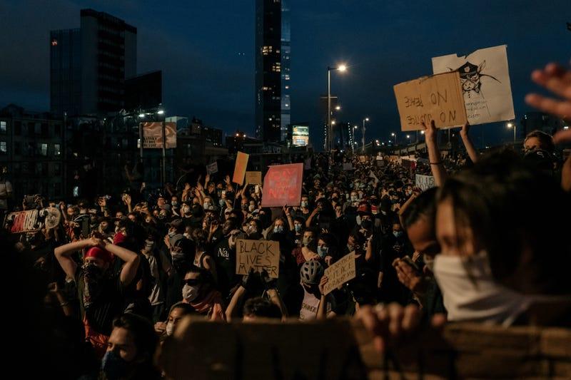 Manhattan protest day 6