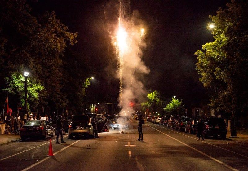 Juneteenth Fireworks in Minneapolis