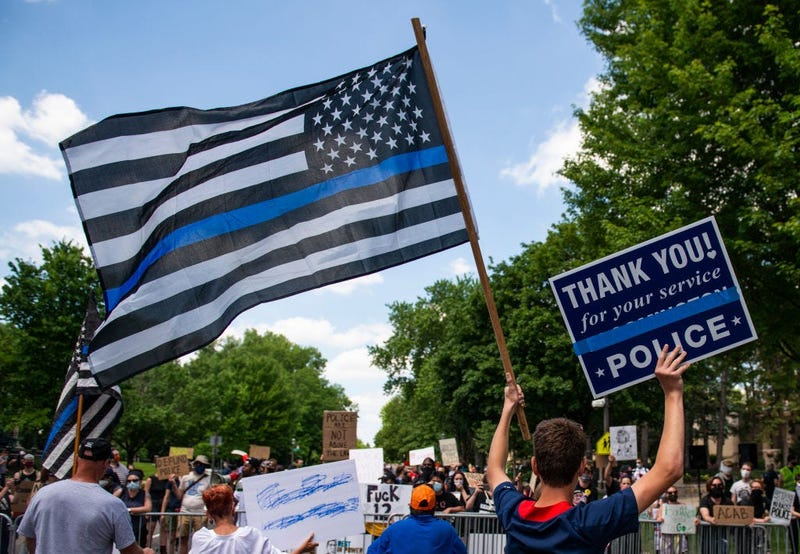 Blue Lives Matter Protest