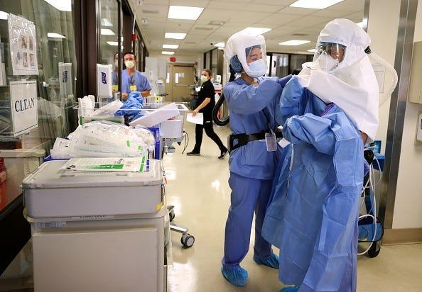 Coronavirus doctors
