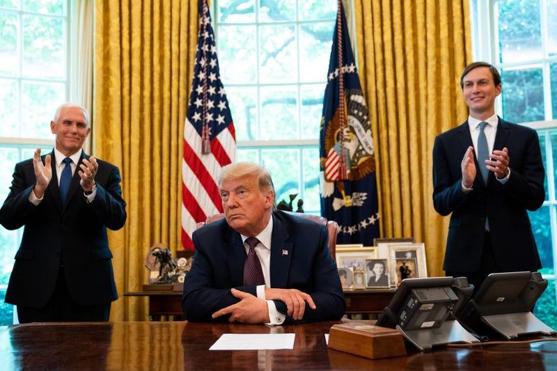 President Trump Oval Office