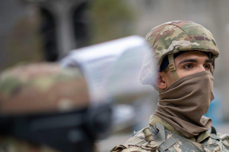 National Guard Troop