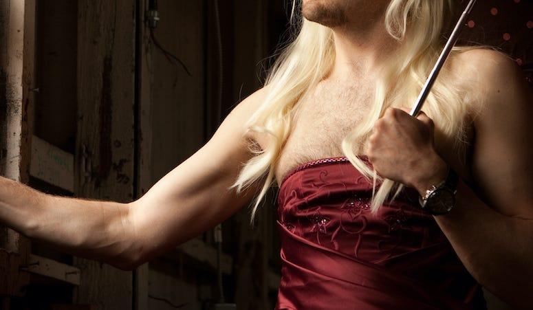 Male, Dress, Hairy, Velvet