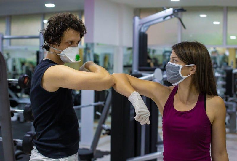 Coronavirus gym