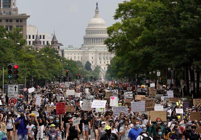 Black Lives Matter - George Floyd - Protest