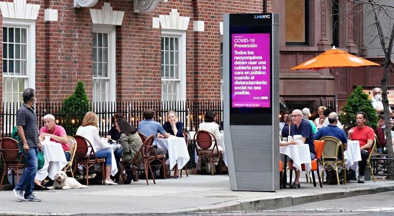 New York City outdoor dining