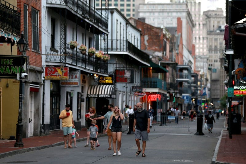 Not good enough: moderate mask compliance in French Quarter could skew numbers