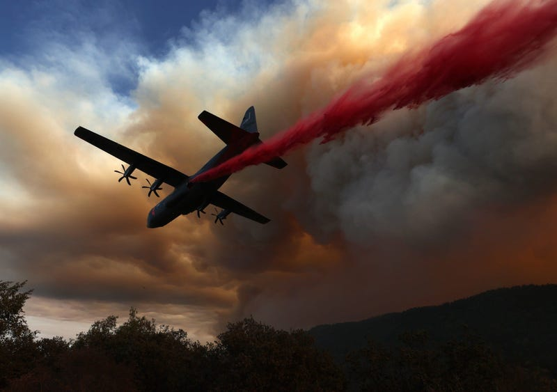 National Guard Versus California Fires, Getty Images