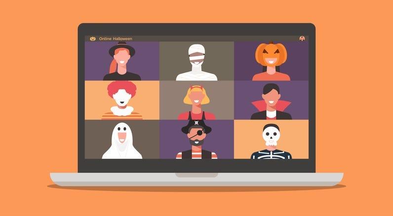 virtual trick or treating app