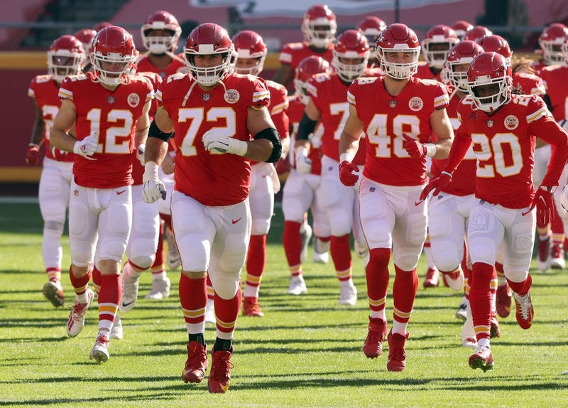 The Chiefs preparing to host the Cleveland Browns