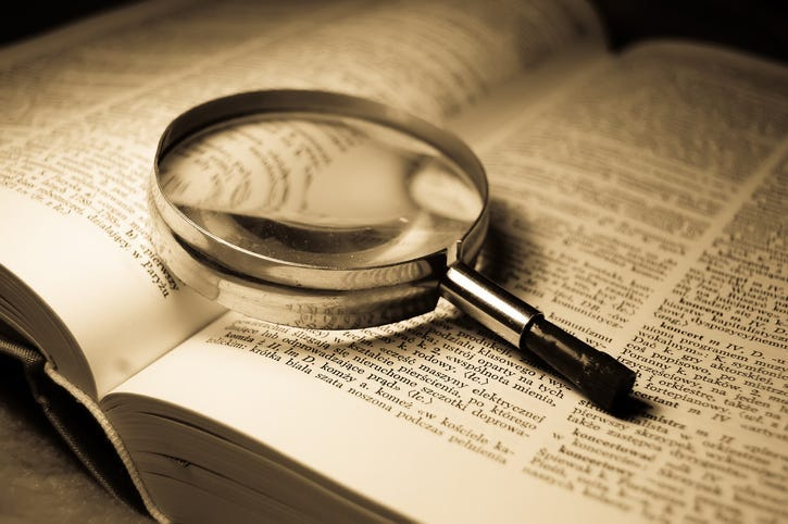 Searching the Dictionary
