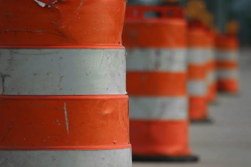 Road Work Barrels