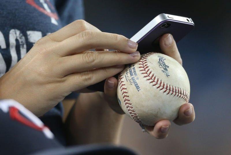 Phone Baseball Opening Day