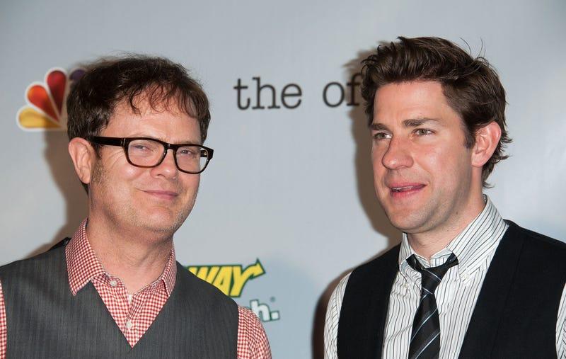 Rainn Wilson and John Krasinski