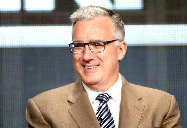 TV Personality Keith Olbermann speaks onstage during the Olbermann panel at the ESPN portion of the 2013 Summer Television Critics Association tour at the Beverly Hilton Hotel on July 24, 2013 in Beverly Hills, California.