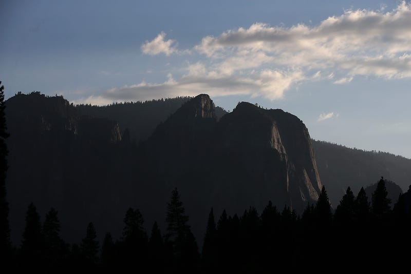 YOSEMITE NTL PARK, CA - AUGUST 28: A view of the Yosemite Valley on August 28, 2013 in Yosemite National Park, California.