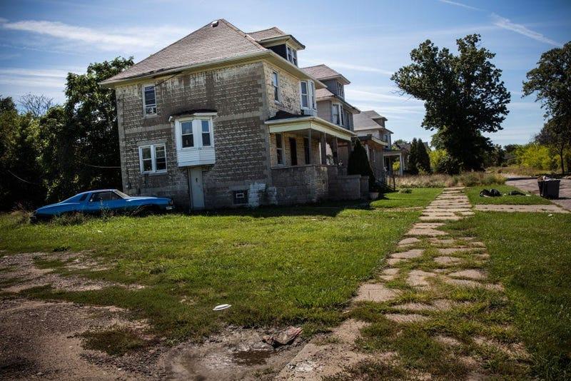 detroit abandoned home