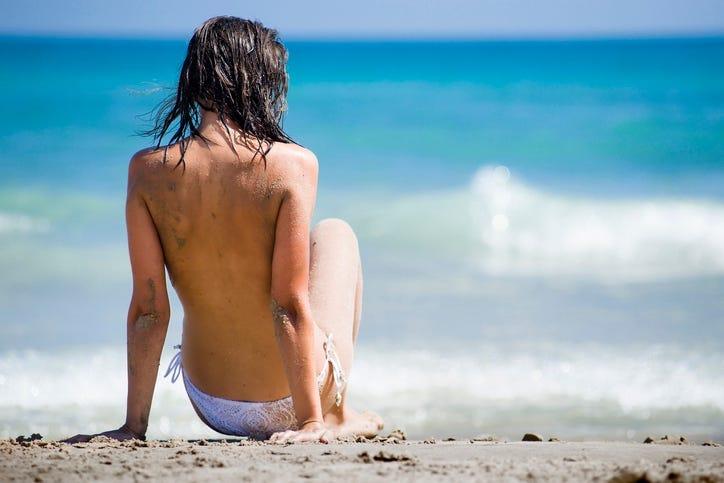 Teen topless beach Topless beaches,