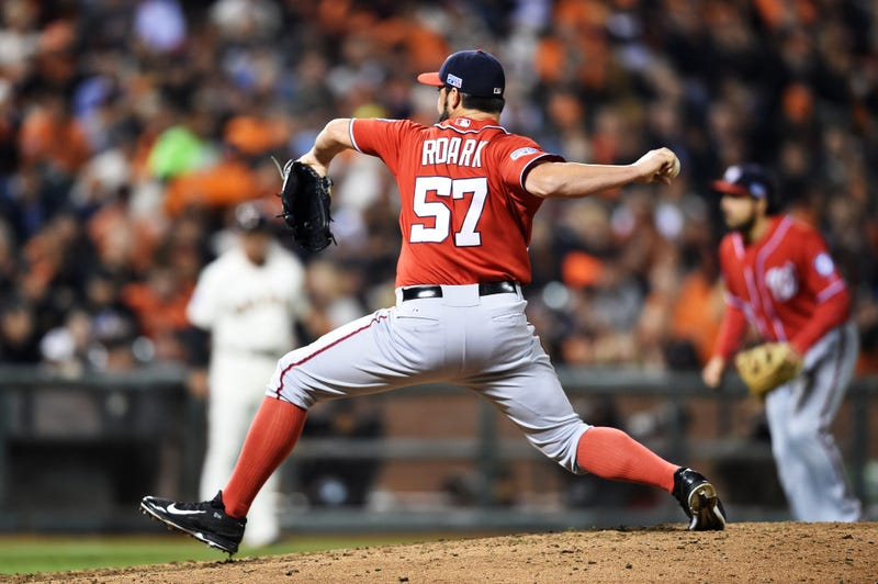 Nationals trade Tanner Roark to Reds for Tanner Rainey