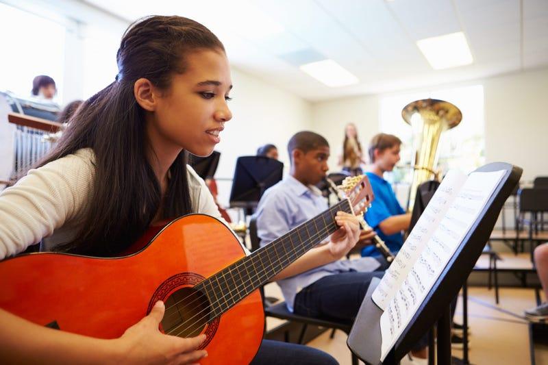 High School Music Class