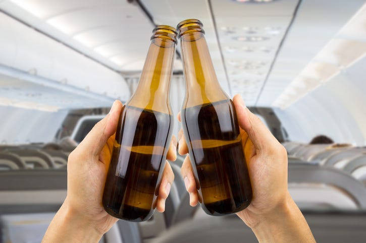 More Passengers Bringing Own Booze on Flights