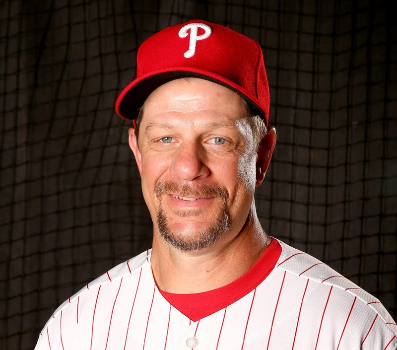 Mickey Morandini poses for a portrait on February 26, 2016 at Bright House Field in Clearwater, Florida.