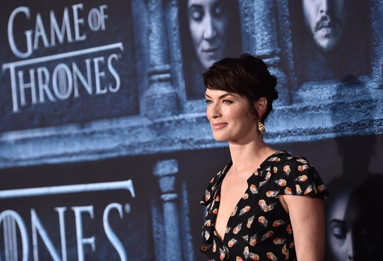 Actress Lena Headey attends the premiere of HBO's
