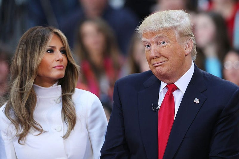 Trump Melania (GETTY)