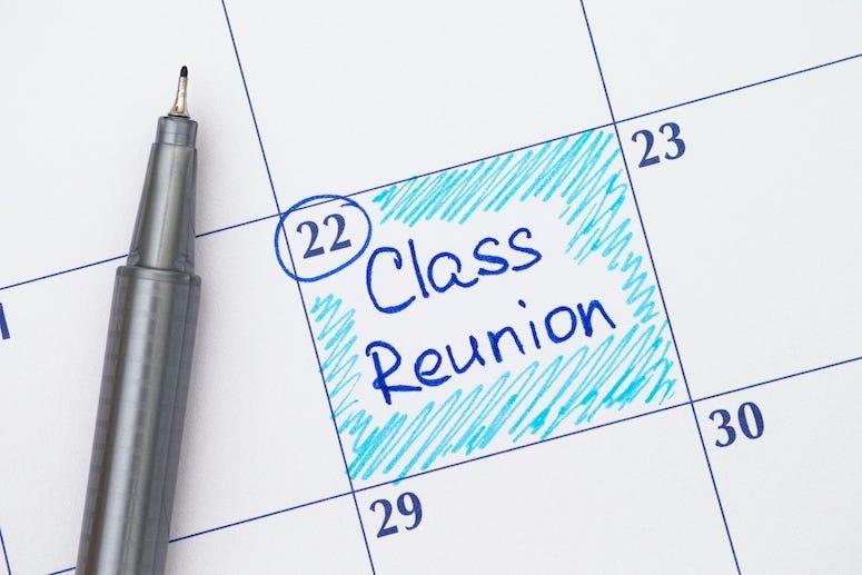 Calendar, Pen, Class Reunion