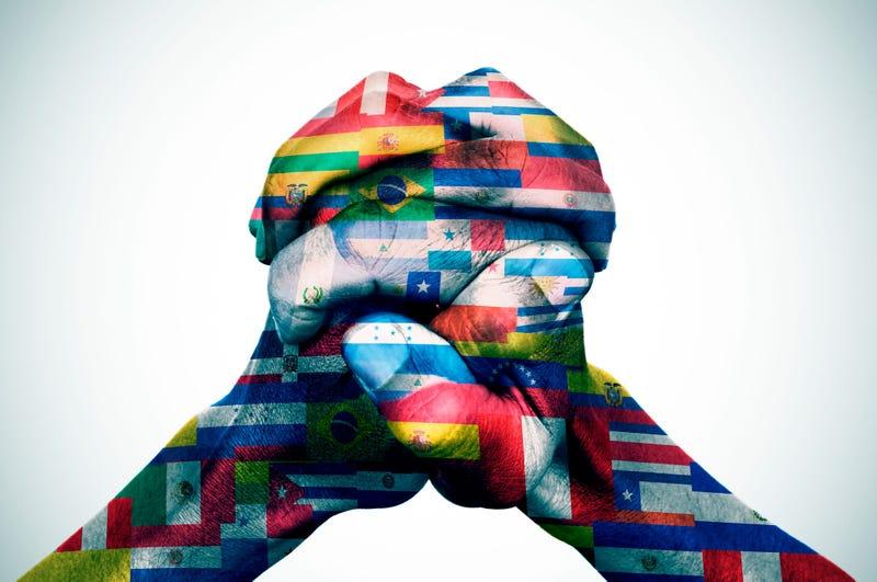 Union de Banderas de Latino América