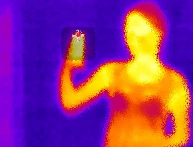 Thermal Camera, Woman